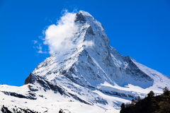 Winter moutains with snow Royalty Free Stock Photography