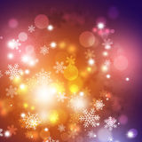 Winter Multicolor Background Stock Images