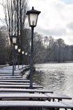 Winter in Munich Stock Photo