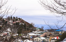 Winter in Murree, Pakistan. This photo is taken in Murree, Pakistan. Murree is a colonial era town located on the Pir Panjal Range within the Murree Tehsil stock photo