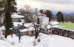 Winter in Murree, Pakistan Royalty Free Stock Photos