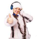 Winter music Royalty Free Stock Photo