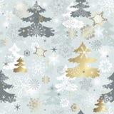 Winter Muster wiederholend Lizenzfreie Stockfotografie