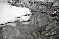 Winter. In my village Stock Photos