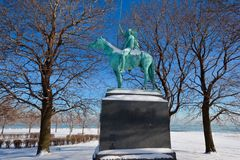 Winter Native Stock Photography