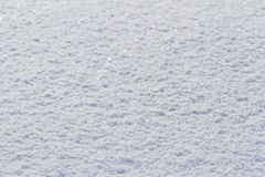 Winter natural texture background with white snow stock photo