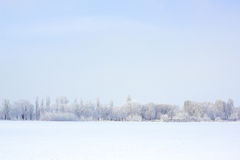 Winter nature beautiful landscape Royalty Free Stock Photos