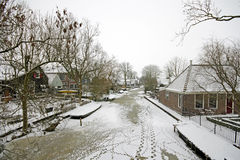 Winter in the Netherlands Royalty Free Stock Image