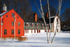 Winter in New England Stock Photo