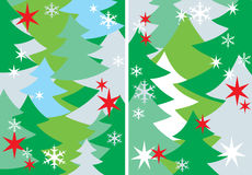 Winter New Year's background Royalty Free Stock Images