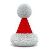 Winter New Year's cap. Royalty Free Stock Photo