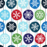 Winter or new year seamless vector pattern Royalty Free Stock Image