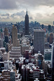 Winter in New York City Royalty Free Stock Photography