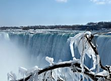 Winter in Niagara Falls Royalty Free Stock Photos