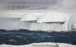 Winter Niagara Falls Stock Photo