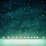 Winter night background Stock Images