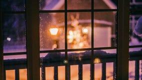 Winter Night royalty free stock photos