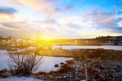 Winter Nordsee Stockbilder