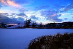 Winter Nordsee Stockfoto