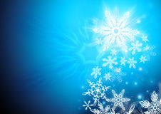 Winter Northern Star Royalty Free Stock Photos