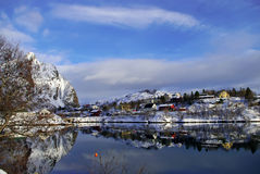 Winter in Norway Stock Image
