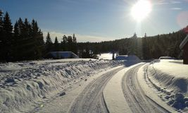 Winter in Norway Stock Photo