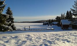 Winter in Norway Stock Image