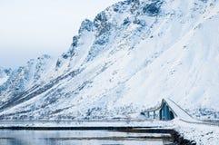 Winter in Norwegen Stockfotografie