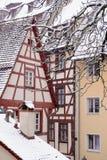 Winter in Nuremberg stock image