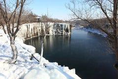 Winter Of Jingpo Lake Stock Images