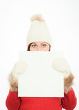 Winter offer Royalty Free Stock Image