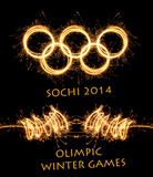 The 2014 Winter Olympiad Sochi Russia Royalty Free Stock Images