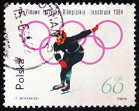 Winter Olympic Games, Insbruck, circa 1964 Royalty Free Stock Photos