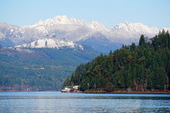 Winter Olympic mountains Stock Images