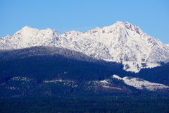 Winter Olympic mountains Stock Image