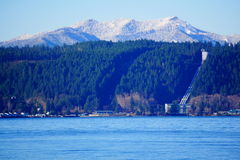 Winter Olympic mountains Royalty Free Stock Photos