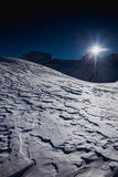 Winter On The Glacier Stock Photography