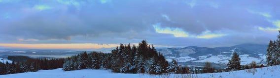 Winter on Orava. Winter in Orava in Slovakia royalty free stock image