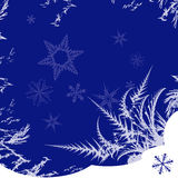 Winter ornament Royalty Free Stock Images