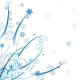 Winter ornament design Stock Photos