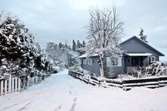 Winter in Oslo Stockfotografie