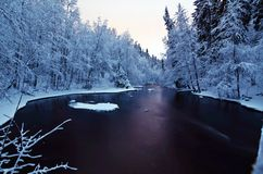 Winter in Oslo Stock Photography