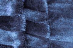 Gray fur of a mink. royalty free stock photo