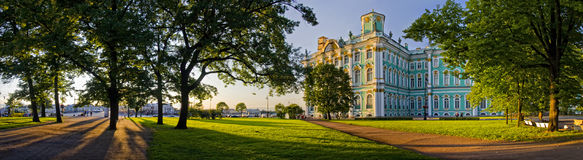 Winter palace Stock Photos