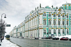 Winter palace Stock Photography