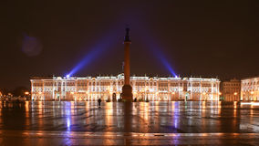 The winter palace and alexandrian column Stock Photo