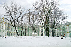 Winter palace. Courtyard Stock Photo