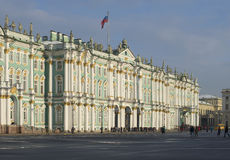 At the Winter Palace, day in February. Saint Petersburg Royalty Free Stock Images