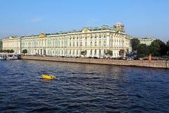 Winter Palace at Day, Saint Petersburg Royalty Free Stock Image