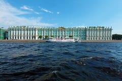 Winter Palace at Day, Saint Petersburg Stock Image